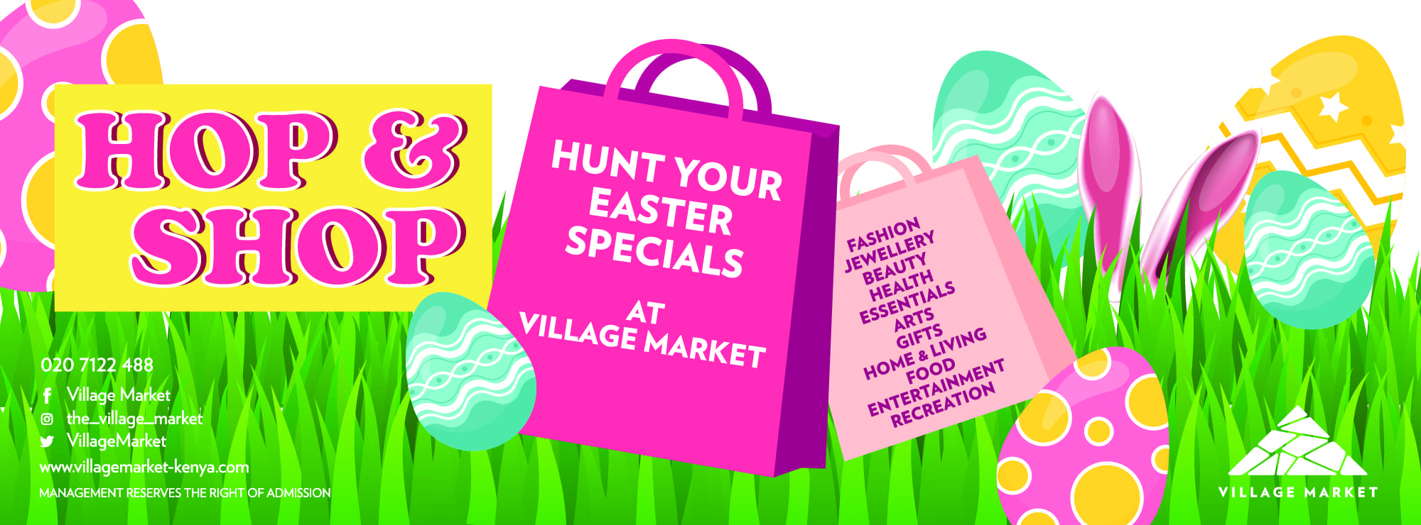 easter hop and shop
